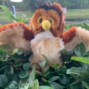 Wise Owl Winnie the Pooh Disney Plush